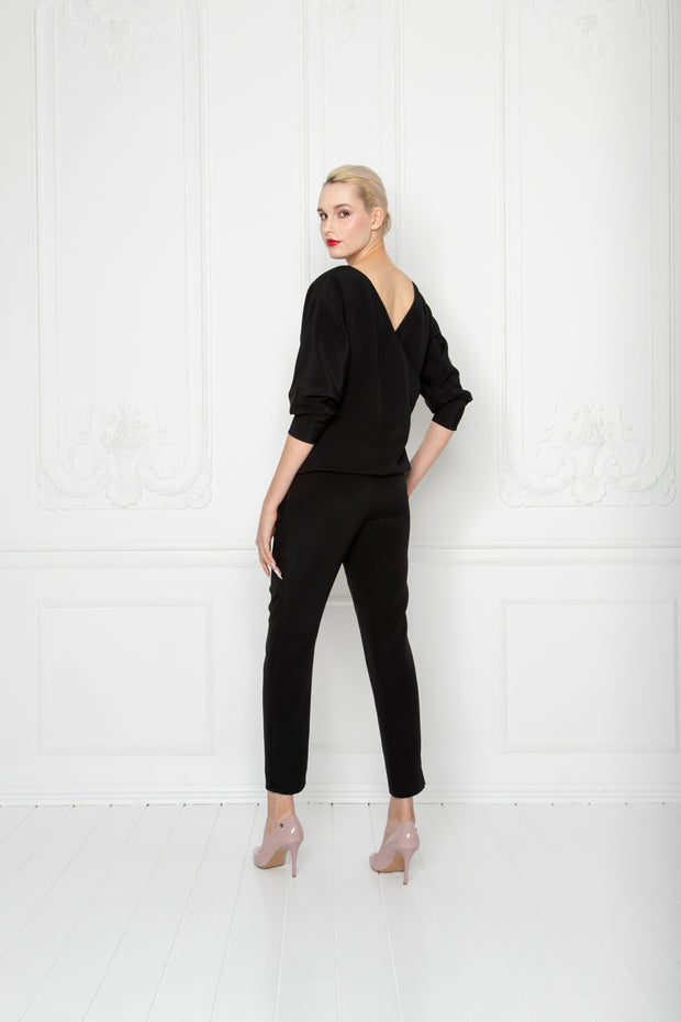 LITTORELLA OPEN BACK BLACK