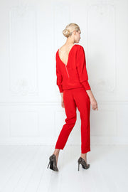 LITTORELLA OPEN BACK RED