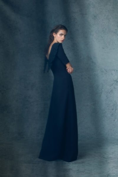 MUSELLA Gown Navy
