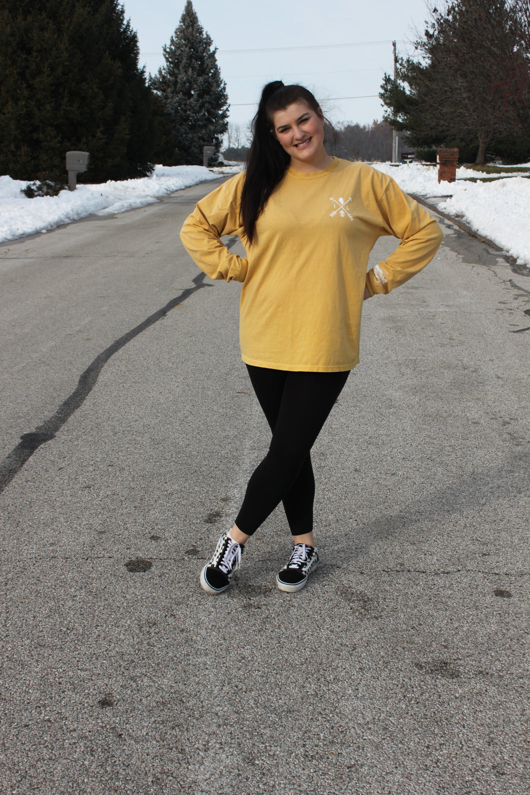 Illinois Arrows Long Sleeve - Mustard