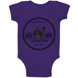 Future Farms Baby Onesie