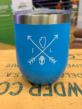 Load image into Gallery viewer, Illinois Arrows 12oz Tumbler - Blue