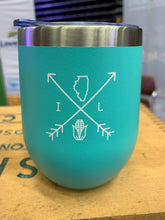 Load image into Gallery viewer, Illinois Arrows 12oz Tumbler - Mint