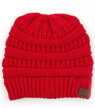 Load image into Gallery viewer, Cross-Crossed Ribbed Beanie Hat