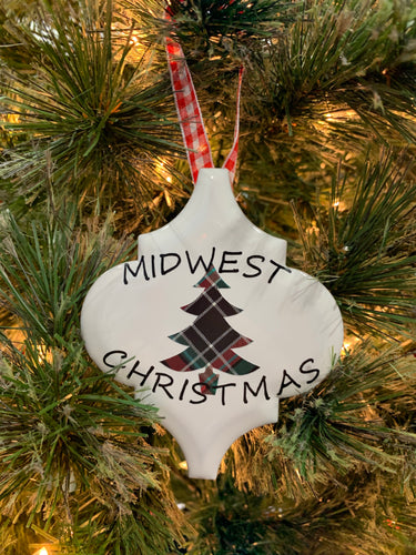 Midwest Christmas Ornament