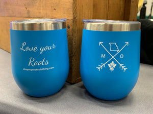 Missouri Arrows 12oz Tumbler - Blue