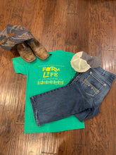 Load image into Gallery viewer, Farm Life Unisex Tee - Heathered Green