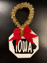 Load image into Gallery viewer, Iowa Ornaments (small)