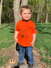 Load image into Gallery viewer, Iowa Arrows Bull Toddler Tee