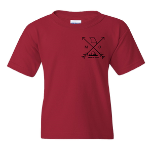 Missouri Arrows Arch Youth Tee