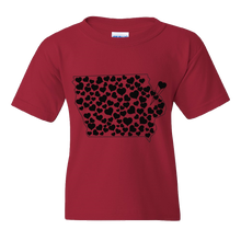 Load image into Gallery viewer, Iowa Love Youth Tee