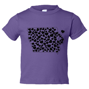 Iowa Love Toddler Tee
