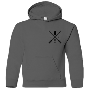 Illinois Arrows (front/back)- Youth Hoodie