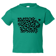 Load image into Gallery viewer, Iowa Love Toddler Tee