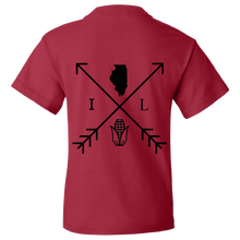 Load image into Gallery viewer, Illinois Arrows Agriculture Youth Tee