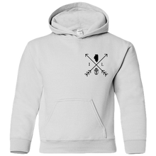 Load image into Gallery viewer, Illinois Arrows (front/back)- Youth Hoodie