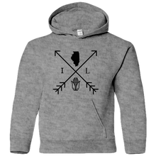 Load image into Gallery viewer, Illinois Arrows - Youth Hoodie