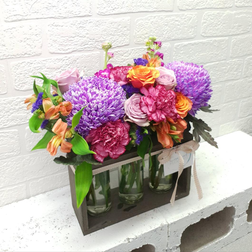 Floral Bottles | Coastal Flowers | Gold Coast Florist