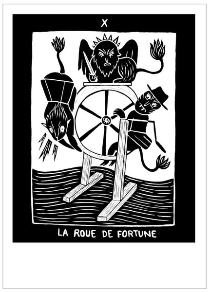 Tarot - the wheel of fortune