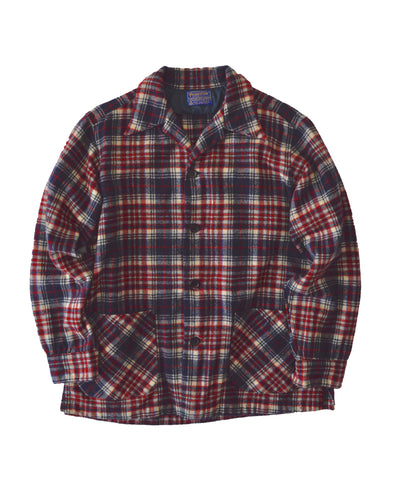 Pendleton Virgin Wool Check Shirt Jacket