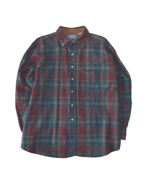 Pendleton Virgin Wool Check Shirt