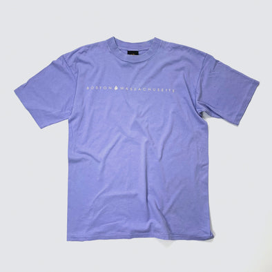 Purple Boston T-shirt
