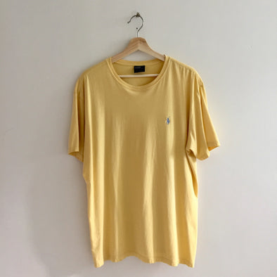 POLO RL yellow tee