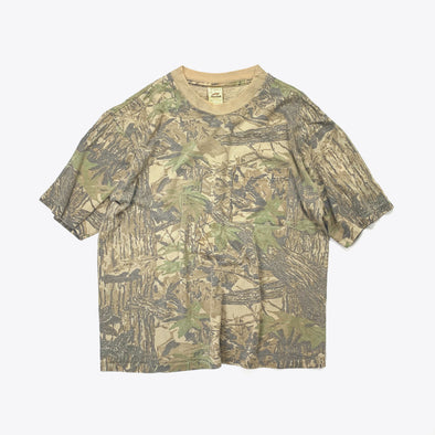 Tree Camo Pocket T-Shirt