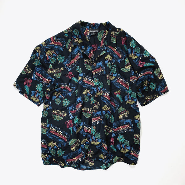 Hawaii柄 Shirt