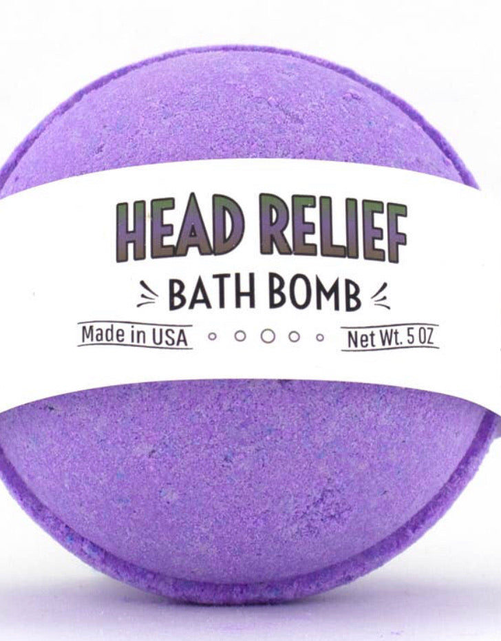 Bath Bomb - Head Relief