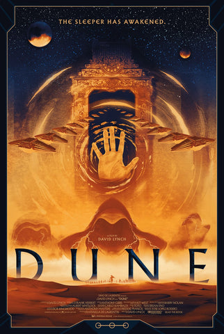 Dune by Matt Griffin - Screenprint - AP Regular Edition