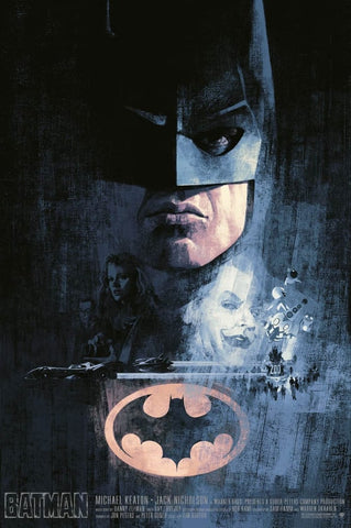 Batman by Hans Woody - AP Edition Screenprint