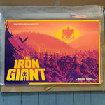 The Iron Giant by Matt Griffin - Limited Edition Screenprint