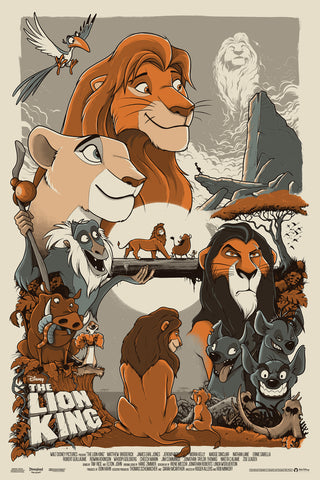 The Lion King by Mark Bell