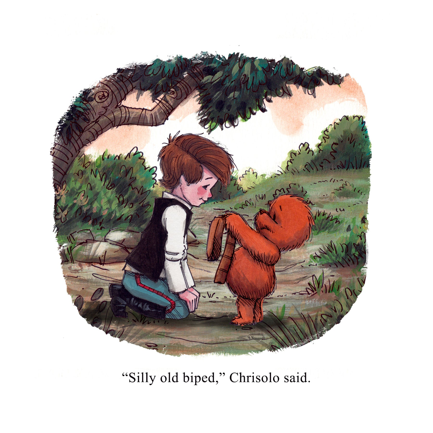 Wookiee the Chew - New Style Print Set