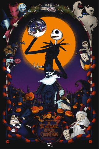 Mainger - Nightmare Before Christmas - Europe Shipping
