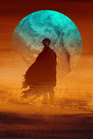 Paul (Dune Book Cover) by Matt Griffin - Screenprint - AP Regular Edition