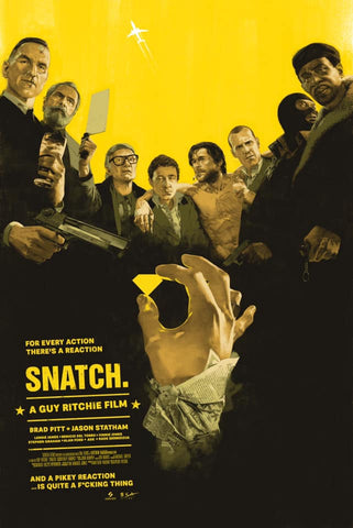 Snatch by Marc Aspinall - UK Shipping