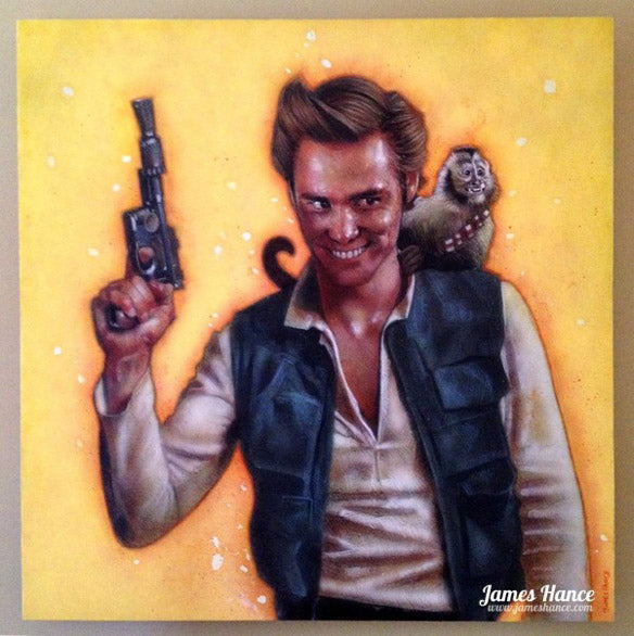 James Hance - Space Ventura, Fett Detective Sticker