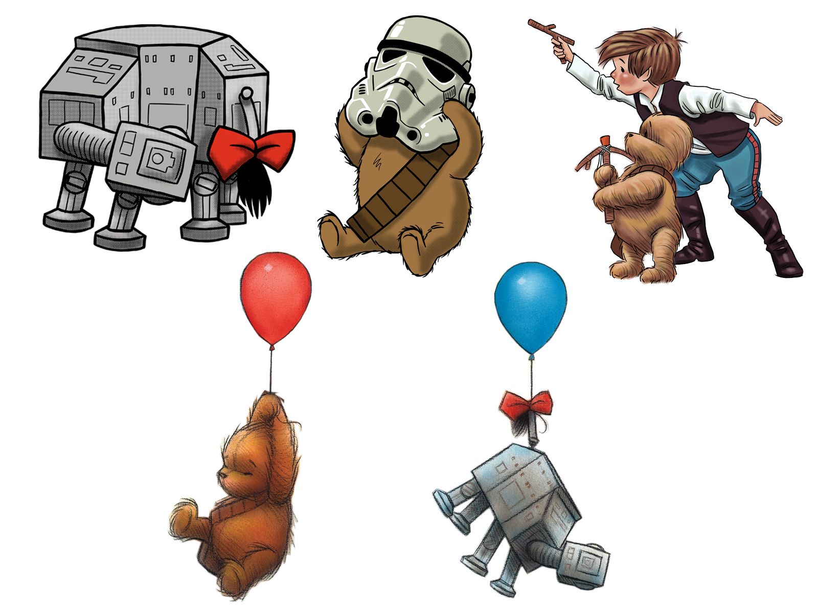 Wookiee the Chew - Sticker Set