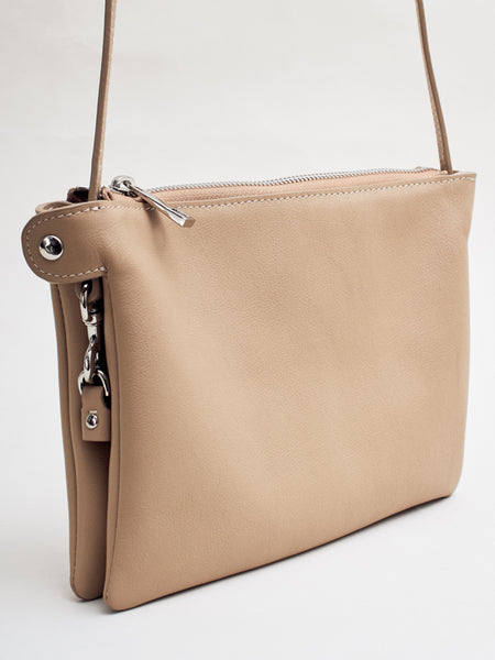 Carter Side Bag Light Tan