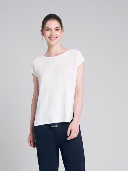 Orla Knit White