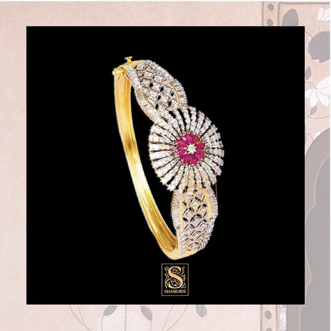 Indian Jewellery Designs,South Indian Jewellery,South Indian Jewelry,Bracelet Bangle,latest indian jewellery Designs - NIHIRA-SHABURIS