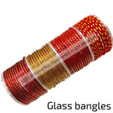 Seemantham Bangles|Indian Glass Bangles|amma vari bangles|return gift Bangles |Baby shower glass bangles decor|Glass Bangles -24 bangles