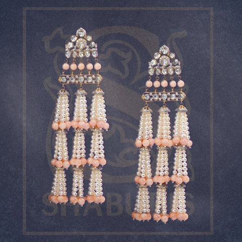 Indian Jewellery Designs,South Indian Jewellery,Indian Jewelry,Coral dangler,indian jewelry online,latest indian jewellery - NIHIRA-SHABURIS