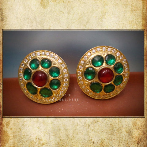 Diamond Studs,polki Jewelry,Daily wear Jewelry,moghul Jewelry,emerald Stones Jewelry,Sterling Silver Jewelry,Pure Silver Jewelry