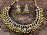 Latest Indian Jewelry,Gold Plated Jewellery Indian ,Artificial Jewellery,lyte weight Indian Bridal,Indian Wedding Jewelry-NIHIRA-SHABURIS