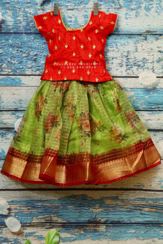 New Born Indian Kids Dress | Indian New Born Dress | Indian New Born Kids pattu Dress | Indian Baby Girl Dress |Indian Baby Girl Pink Dress