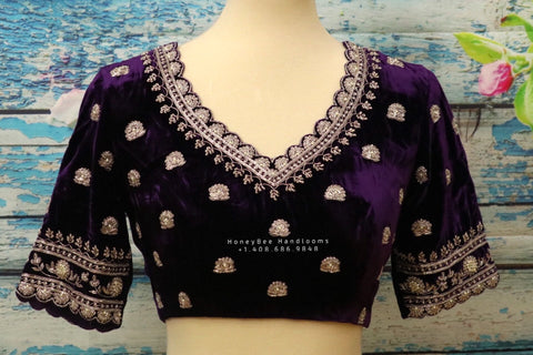 Velvet blouse indian,Latest indian blouse designs,saree blouse designs indian,saree stitched blouse,south indian blouse,designer blouse