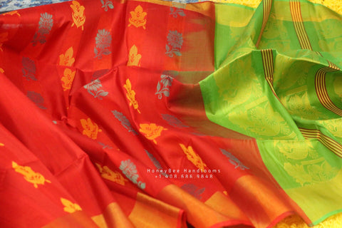 Lyte weight Sarees online,seemantham Sarees, kanchi cotton Sarees,baby shower gift Saree,handloom saree,Zari saree,gift saree mom saree